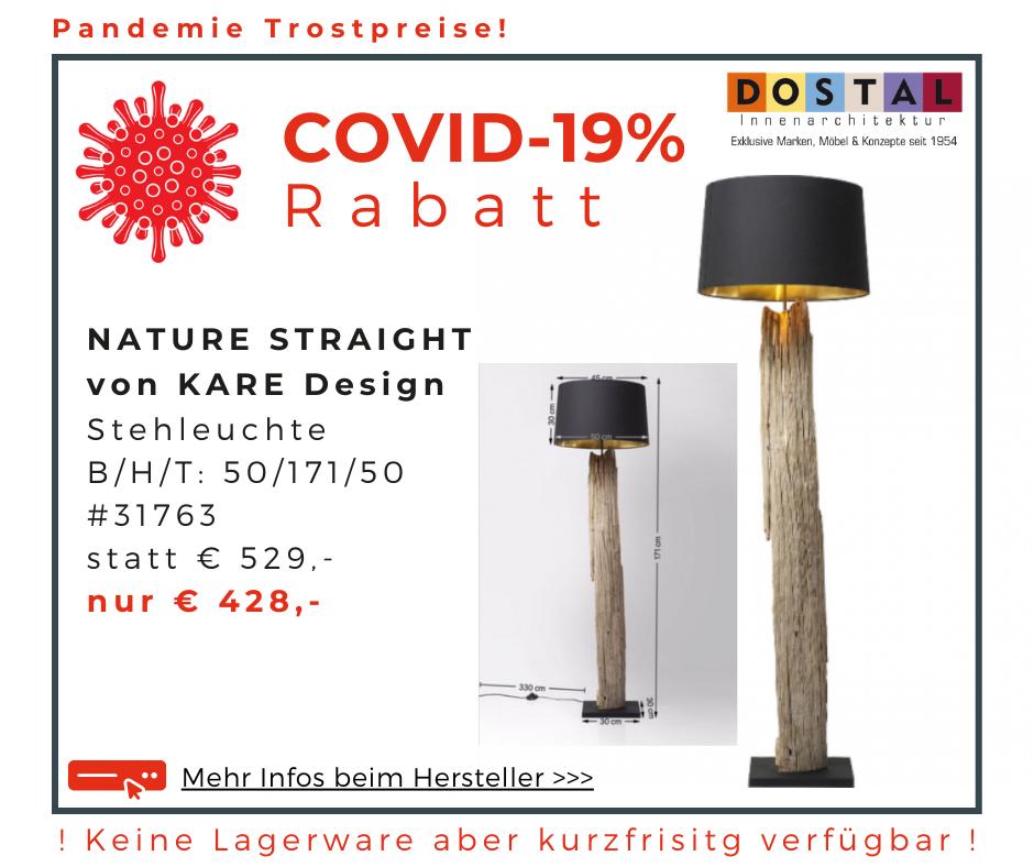 Stehlampe NaturStraight